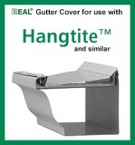 "5"" Raytec Real Gutter cover 4' long 50 pcs. per box Mill Finish"